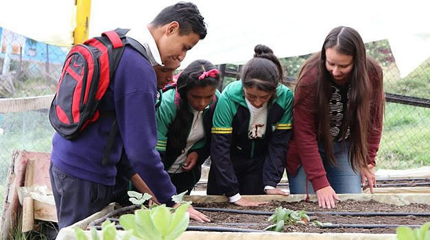 Novedoso sistema de recolección y aprovechamiento de aguas lluvias en colegio de Soacha