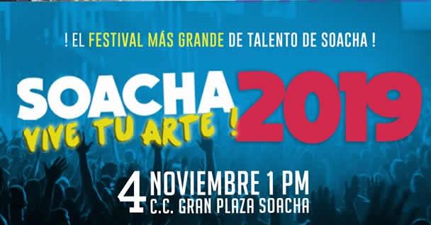 Durante el puente festivo se realizará 'Soacha vive tu arte'