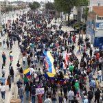 Soacha vivió de forma pacífica manifestación de apoyo al Paro Nacional
