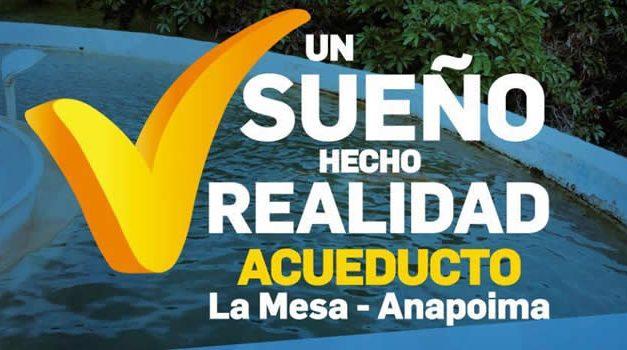 Socializan construcción del acueducto  La Mesa-Anapoima