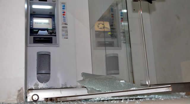 85 cajeros automáticos fueron afectados en todo el país por los actos de vandalismo