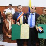 Asamblea entrega Orden al Mérito Policarpa Salavarrieta a dos hijos ilustres de Cundinamarca