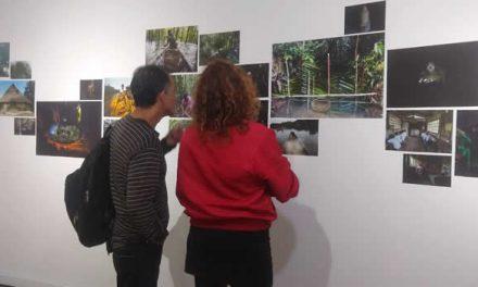 """Inauguran exposición artística Food of War """"Comida de guerra"""" en Bogotá"""
