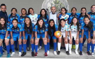 Selección de fútbol femenino de Cundinamarca participa en juegos nacionales