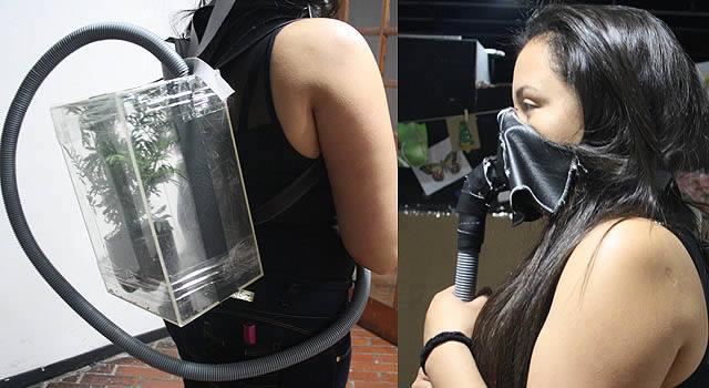 Novedoso llamado de atención para cuidar el aire hizo joven de Silvania en Soacha