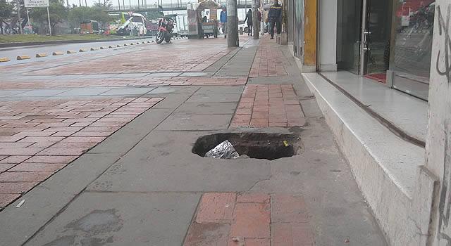 En Soacha se roban las tapas de los contadores de agua y nadie se da cuenta