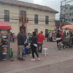 Vendedores ambulantes invaden el parque de Soacha