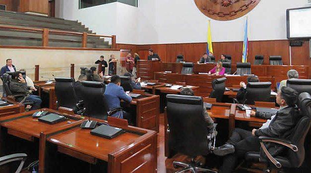 Asamblea de Cundinamarca  amplía periodo de sesiones extraordinarias hasta el 14 de septiembre