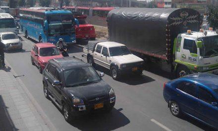 Indignación  en Soacha por caos vehicular del fin de semana