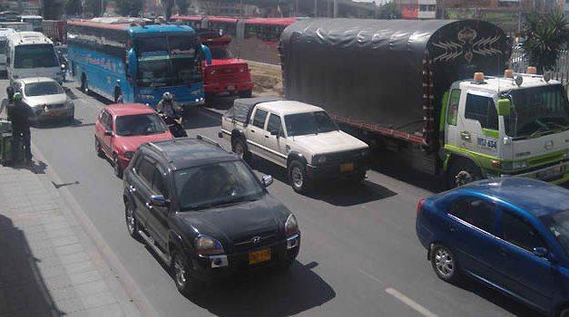 Cambios en la movilidad de la Autopista Sur por  mantenimiento vial en sector de Gran Plaza Soacha
