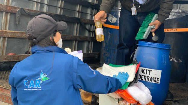 Lupa al transporte de residuos peligrosos en carreteras de Cundinamarca y Boyacá
