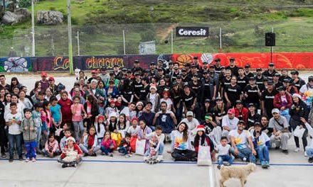 Un parque renovado recibió La Chacua gracias a jornada de voluntariado Ceresit