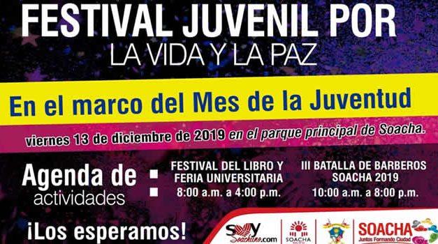 Soacha celebra el Festival Juvenil por la Vida y la Paz