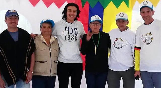 El presidente de junta más joven de Soacha está en San Nicolás
