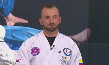 Richard Suárez, talento soachuno en el hapkido nacional e internacional