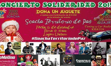 Alzate y otros artistas se unen al concierto de la solidaridad de Soacha