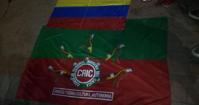 Guardia Indígena trajo a Soacha un saludo de resistencia,  lucha y  hermandad del pueblo colombiano