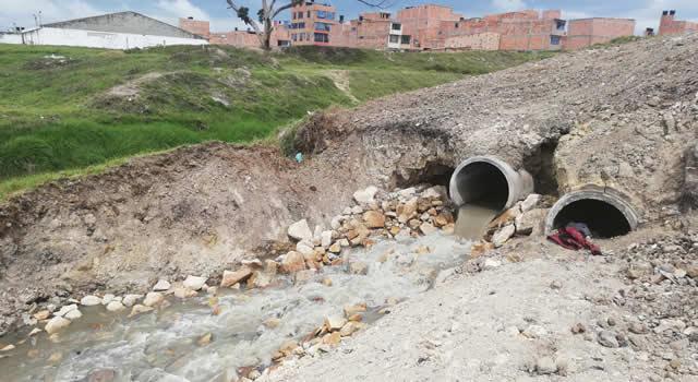 Por fin se interviene cabezote del río Bogotá en Ciudad Latina