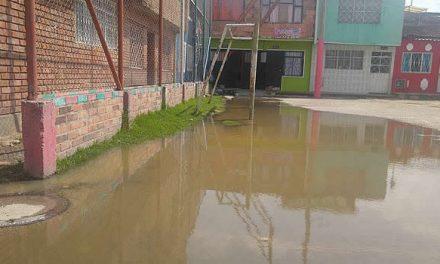 Aguas residuales amenazan salud de habitantes de Las Ferias y Portalegre