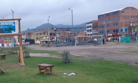 En un  barrio de Soacha se adecúa escenario deportivo gracias a Masia Fútbol Club