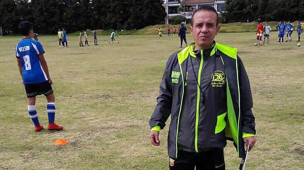 Fallece en Soacha el profesor Juan Miguel Camelo, un apasionado del fútbol