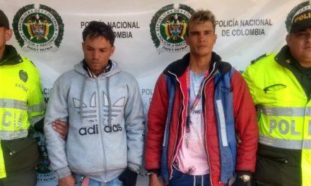 Capturados dos ciudadanos extranjeros robando  bicitaxis en Soacha