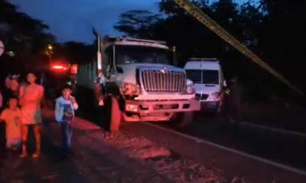 En Fusagasugá, Cundinamarca,  muere conductor de tractocamión