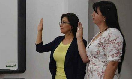 Dos nuevas funcionarias se suman al equipo de trabajo del alcalde Saldarriaga