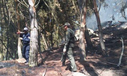 Sibaté  reporta control de incendio en Escuela Jiménez de Quesada