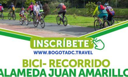 Bogotá invita a bicirecorrido turístico por la Alameda Juan Amarillo