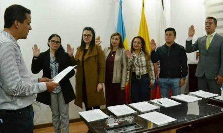 Alcalde de Soacha posesionó oficialmente al nuevo gabinete
