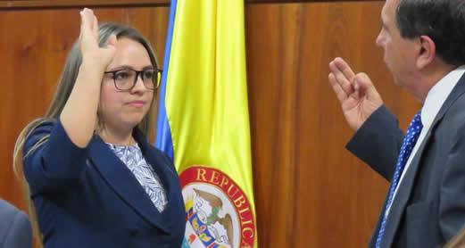 Una facatativeña, nueva Secretaria General de la Asamblea de Cundinamarca