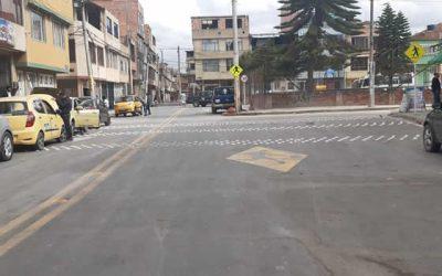 Vías arregladas permiten  mejor manejo de tráfico en Soacha