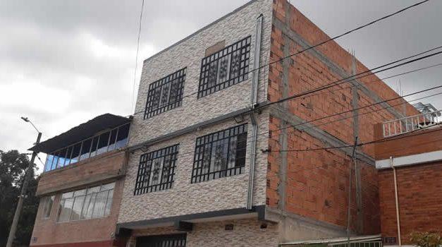 Incierta construcción en barrio residencial de Soacha prende las alarmas