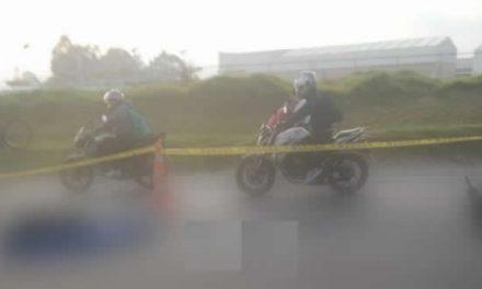 Fallece mujer motociclista en la vía Funza – Siberia