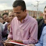 Alcalde Saldarriaga entrega primera adecuación vial en comuna dos de Soacha
