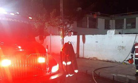 Impiden paso a bomberos  de Soacha cuando  iban a atender incendio en hospital de Mesitas