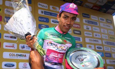 Daniel Martínez, el orgullo de Soacha y del Tour Colombia