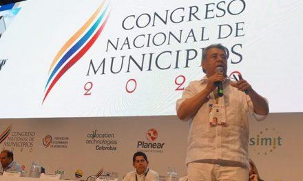 Ex alcalde de Soacha fue ponente en el Congreso Nacional de Municipios 2020