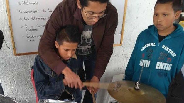 Fundación busca cambiar la percepción de las personas que viven en Cazuca
