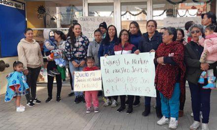 Jardines infantiles de Soacha siguen cerrados, protestas en León XIII y Quintas de la Laguna