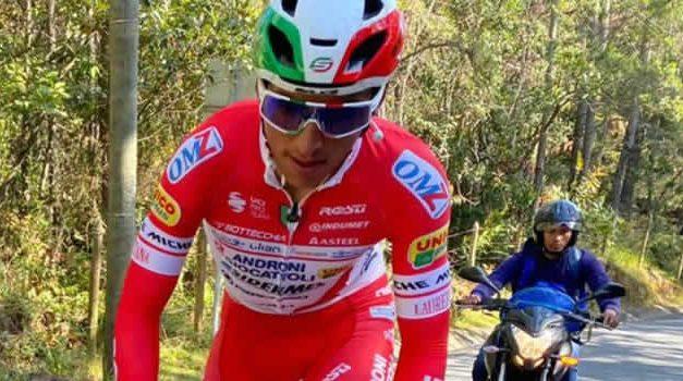 Colombiano Johnatán Restrepo volvió a ganar en el tour de Ruanda