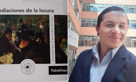 """Profesor y escritor soachuno habla de su primer libro """"Mediaciones de la locura"""""""