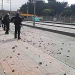 Exigencias por derechos  de estudiantes universitarios de Soacha  fueron opacadas por disturbios