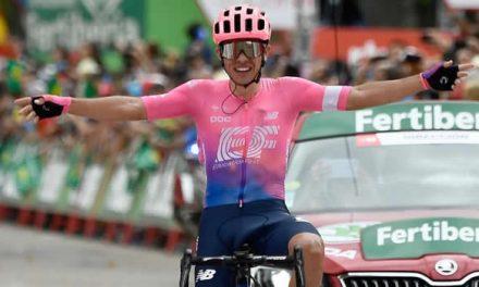 Sergio Higuita es el nuevo campeón nacional de ruta, soachuno Daniel Martínez fue  bronce