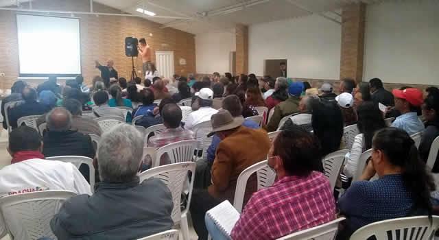 Este miércoles continúan las capacitaciones comunales en Soacha