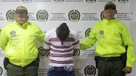 Por posible homicidio capturan  peligroso delincuente en Girardot