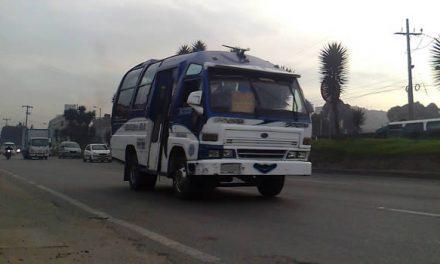 Atracan  pasajeros que se desplazaban a Soacha