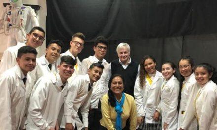 """Niños de Cundinamarca disfrutan  """"Corredor Científico"""""""