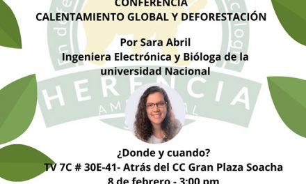 Con conferencia sobre calentamiento global,  'Herencia ambiental' inicia su trabajo en Soacha